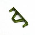 CNC Machined Aluminum Rear Chassis Rail Brace SCX10, SCX10 II (G)