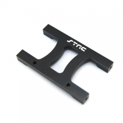 "CNC Machined Alum. HD Chassis Center ""H"" brace SCX10, SCX10 II (Black)"