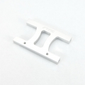"CNC Machined Alum. HD Chassis Center ""H"" brace SCX10, SCX10 II (Silver)"