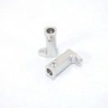 CNC Machined Aluminum Side Rail mount for SCX10 (1 pair) Silver
