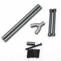 STRC CNC Machined Alum. Front & Rear Upper Suspension Link kit for SCX10 (GM)