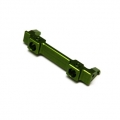 CNC Machined Alum. Front Bumper Mount for SCX10 Honcho (Green)