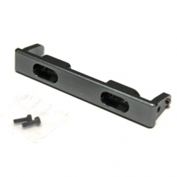 NC Machined Alum. Rear Chassis Rail Brace w/light buckets for SCX10 Honcho, SCX10 II (GM)
