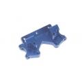 STRC Stampede/Rustler/Bandit/Slash Aluminum Front Bulkhead (Blue)