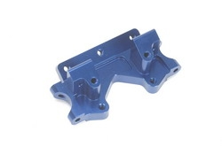 STRC Stampede/Rustler/Bandit/Slash Aluminum Front Bulkhead (Blue)
