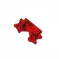 Stampede/Rustler/Bandit/Slash Aluminum Front Bulkhead (Red)