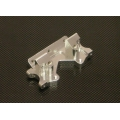 Stampede/Rustler/Bandit/Slash Aluminum Front Bulkhead (Silver)