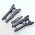 STRC CNC Machined Aluminum Rear A-Arm set (w/steel hinge-pins) for Traxxas Slash (GM)
