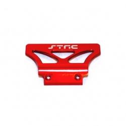 STRC Stampede/Rustler/Bandit Alum. Oversized Front Bumper (Red)