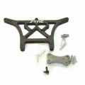STRC Stampede/Rustler/Slash 6mm HD Rear Shock Tower (Gun Metal)