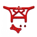 STRC Stampede/Rustler/Slash 6mm HD Rear Shock Tower (Red)