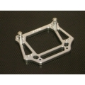 STRC Stampede/Rustler/Bandit/Slash 6mm HD Alum. Front Shock Tower (Silver)