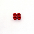 Stampede/Rustler/Bandit/Slash 12mm Lock-pin Style Alum. Wheel Hex (Red)