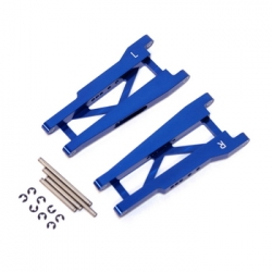 STRC Aluminum Rear A-arm set for Traxxas Stampede/Rustler (1 pair) Blue
