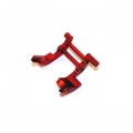 STRC CNC Machined Aluminum Rear Motor Guard for Traxxas cars/trucks (Red)