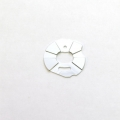 STRC CNC Machined Aluminum Slash 2wd motor heatsink plate