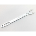 STRC Aluminum CNC Machined Pro Racing Battery Strap for Traxxas Slash (Silver)