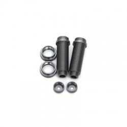 STRC CNC Machined Threaded Aluminum Rear Shock Body Set 1 pair Slash 4x4 & Slash 2WD  (Gun Metal)