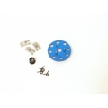 STRC CNC Machined 3-shoe style clutch kit for Revo/Nitro Slash (Blue)