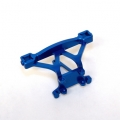 Precision Machined Aluminum Front Body posts/Bumper mount (Blue) for Revo
