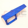 CNC Machined Aluminum Transmission/center Skid Plate (Blue)