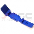 CNC Machined Aluminum HD Front+Middle 1 piece Skid Plate set (Blue)