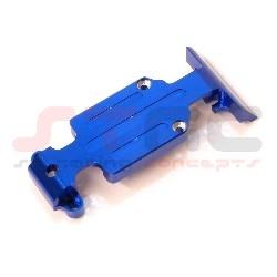 CNC Machined Aluminum HD Rear Skid Plate set (Blue)