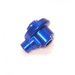 Precision CNC Machined Alum. Outter Diff Case for Revo (Blue)