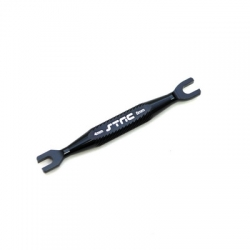 STRC Aluminum Universal 4mm/5mm Turnbuckle Wrench (Black)