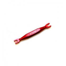 STRC Aluminum Universal 4mm/5mm Turnbuckle Wrench (Red)