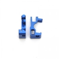 STRC CNC Machined Aluminum C-Hubs for Slash 4x4 (Blue) 1 pair