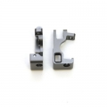 STRC CNC Machined Aluminum C-Hubs for Slash 4x4 (Gun Metal) 1 pair