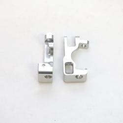 STRC CNC Machined Aluminum C-Hubs for Slash 4x4 (Silver) 1 pair