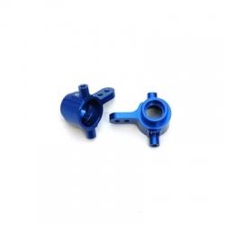 STRC CNC Machined Aluminum Steering Knuckles for Slash 4x4 (blue)