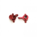STRC CNC Machined Aluminum Steering Knuckles for Slash 4x4 (Red)