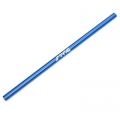 STRC Aluminum LW Center Main driveshaft for Slash 4x4 (Blue, w/STRC logo)