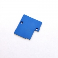 STRC CNC Machined Electronics Plate for Slash 4x4 (Blue)