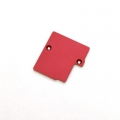 STRC CNC Machined Electronics Plate for Slash 4x4 (Red)