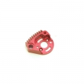 STRC CNC Machined Aluminum Large Finned Motor Mount (Red)