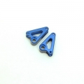 STRC CNC Machined Aluminum Front Rocker Arms for Traxxas mini Slash/E-Revo (Blue)