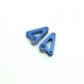 STRC CNC Machined Aluminum Front Rocker Arms for Traxxas mini Slash/E-Revo (Blue)