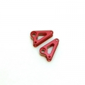 STRC CNC Machined Aluminum Front Rocker Arms for Traxxas mini Slash/E-Revo (Red)