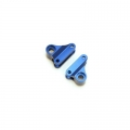 STRC CNC Machined Aluminum Rear Rocker Arms for Traxxas mini Slash/E-Revo (Blue)