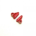 STRC CNC Machined Aluminum Rear Rocker Arms for Traxxas mini Slash/E-Revo (Red)