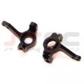 Precision CNC Machined Aluminum Steering Knuckles Axial AX10/SCX10 (Black)