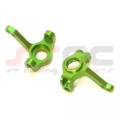 Precision CNC Machined Aluminum Steering Knuckles for Axial AX10 (Green)