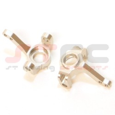 Pair Aluminum Front Knuckle Arm//Steering Knuckle Silve For Axial AX10 SCX10