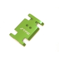 CNC Machined Aluminum Center Transmission Mounting Plate for Axial AX10 (Green)