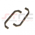 CNC Machined Aluminum Lateral Chassis Braces for Axial AX10 (Black)