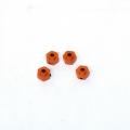 Axial AX10/HPI Wheely King 12mm Aluminum lock-pin Hex adapter set (Orange)